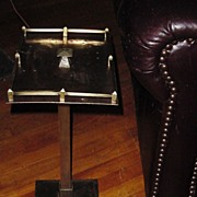 Arts and Crafts, Mission Style Brass Smoke or Drink Stand
