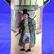 REDUCED Royal Doulton Dickens Ware Vase...Barkis....1931