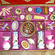 SOLD Incredible 1890 French ETRENNES Lottery Game Fully Loaded!!!!