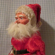 SALE Wonderful Paper Mache Santa from Germany!