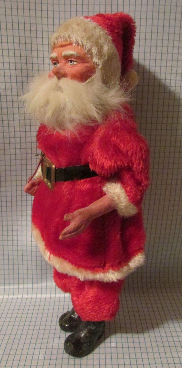 Wonderful Paper Mache Santa from Germany!