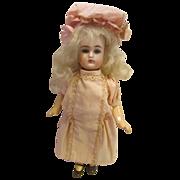 "K*R  #192 Bisque Head Doll Charmer 7 1/2""  - All Original!"