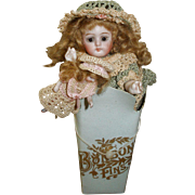 SALE CLEARANCE Early French Bonbon Box for Your Doll Display!