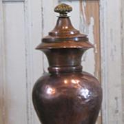 French Antique Copper Samovar