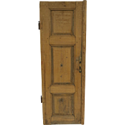 Pine Paneled Door 19th Century Cabinet Architectural