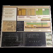 Large Engineer Symatic Architectural Presentation San Francisco Printing Co Newspaper Plant Mi