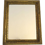 Early 19th Century Carved Gilt Mirror