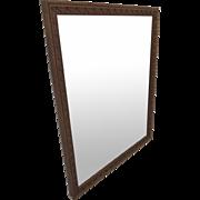 French Walnut Carved Mirror