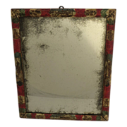 Early Painted and Decoupage Mirror