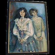 Oil on Canvas by Jan De Ruth