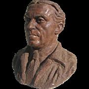 Terra Cotta Bust c 1930 Prop