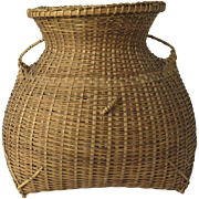 Vintage Chinese Basket Handles Loop Great Shape
