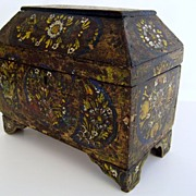 19th Century Painted Mexican Box