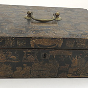 Decoupage 19th Century Box