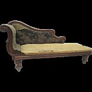 English Rosewood  Chaise Longue c 1840