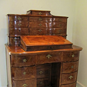 Southern German or Italian 24 Drawer Desk
