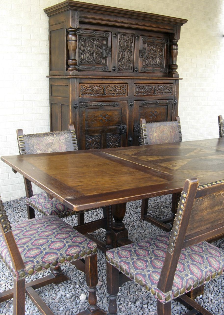 French Gothic Dining Room Set