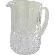 Vintage Waterford Lismore Crystal Pitcher