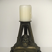 Bronze Jardiniere Epergne Base Candlestick
