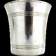 Steiff Colonial Williamsburg Restoration Pewter Cup