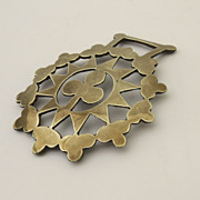 English Horse Brass with Clover.