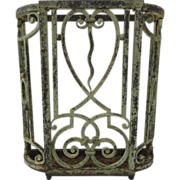Painted Iron Umbrella Stick Stand Deco