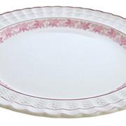 Large Round Spode Valencia Platter