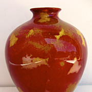 Royal Doulton Flambe Vase Sung Shape