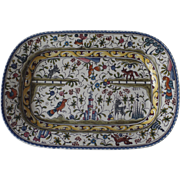 Vintage Small Deep Platter Williams Sonoma Exclusive Made in Portugal Provence Nazari
