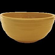 Pfaltzgraff Yellow Mixing Bowl c 1930/1940's