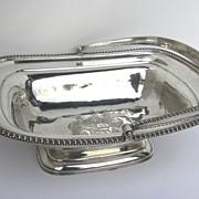 English Georgian Silver Swing Handle Basket by