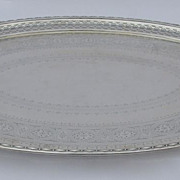 English Silverplate Tray by Elkington