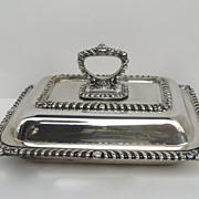Sheffield Silver Plate Entree Server c 1840