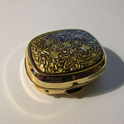 Damasquidano de Oro, Toledo, Spain Miniature Pill Box