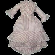 "Pretty 1860's Dress for 14""-15"" Parisienne"