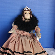 "28"" Tall Bed doll / Boudoir Doll all original with add on`s"