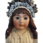 """Giant 32"""" Tete Jumeau Doll Absolutely Beautiful"""