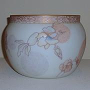 SALE Mount Washington Crown Milano glass vase Jardiniere