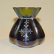 Small Iridescent Lobmeyr glass vase