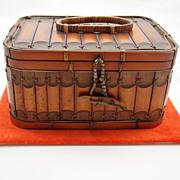 Vintage Japanese Lunch Basket