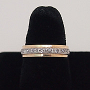 Vintage Diamond Eternity Ring