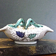 Reduced 20%~ARS Deruta Italian Majolica Pottery Candle Holder
