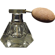 SALE *Final Clearance ~Small, Unique Shape Perfume Crystal Atomizer