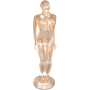 SOLD Lalique Glass Figurine  Josephine