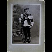 SOLD Letters,Photo, Memorabilia William Rodigrass Died Age 10 Newburyport MA~ 1903