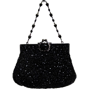 Stunning Todd Anthony New York Beaded & Sequin Evening Bag.