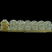 SALE Vintage MARY KAY 14 K Yellow Gold & Diamond $200.000 Mary K Award Pin ...