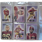 1955 Philadelphia Eagles Set of 8 Bowman Football Cards