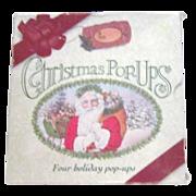 Box of 4 Christmas Pop-Ups Books
