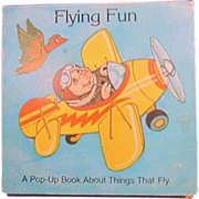 Flying Fun Pop-Up Book of things That Fly 1982